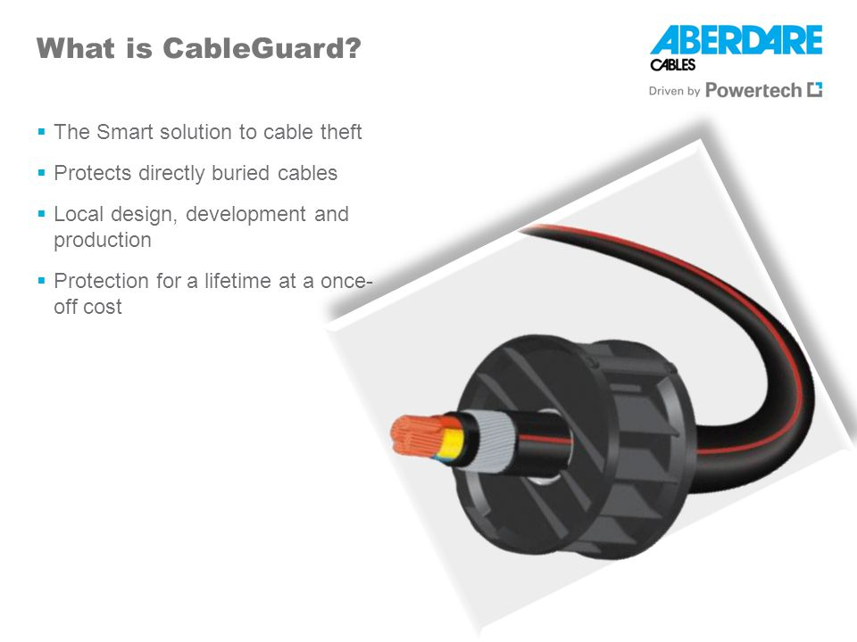 Self Insurance CableGuard is Self Insurance Insurance companies view cash in transit a lesser risk to insure, NO insurance is available for underground cable installations at this time.