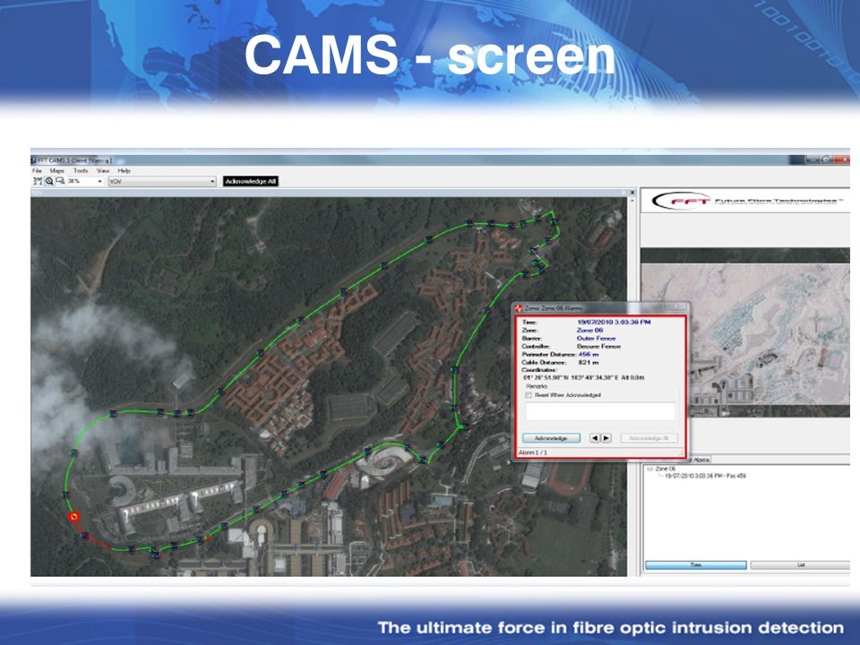 CAMS - screen