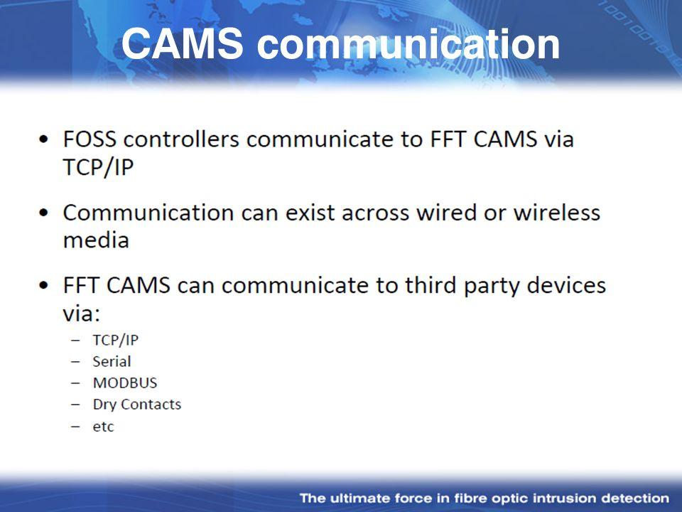 CAMS communication
