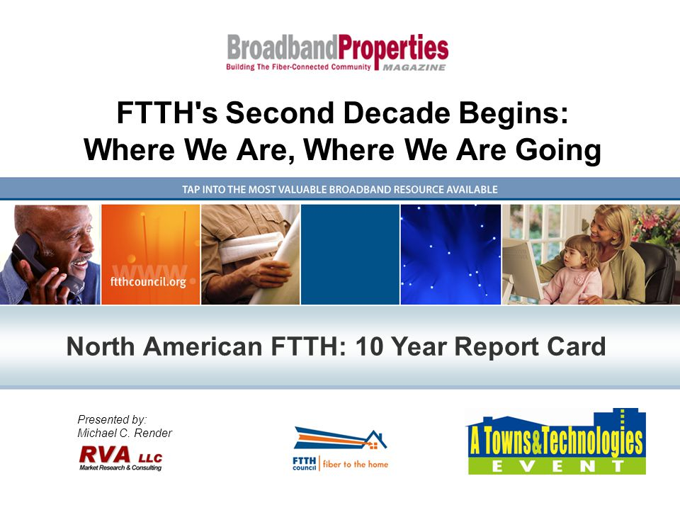 Has FTTH Had An Impact? Economy Quality of User Experience New Technology