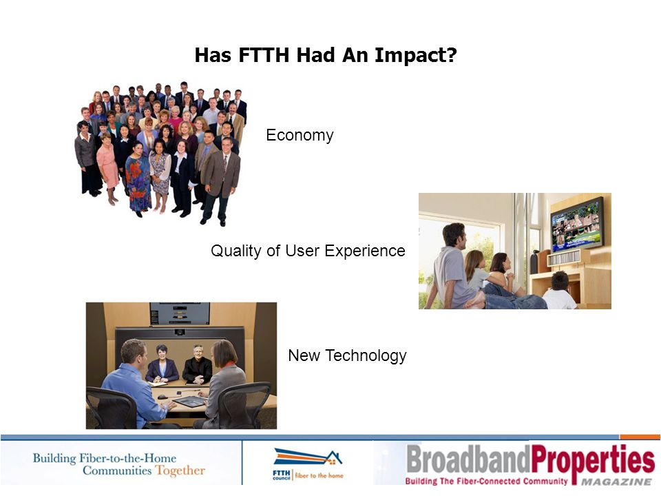 FTTH Homes Passed Have Grown Cumulative – North America 100 x Growth since 2001
