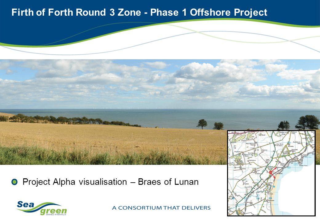 Firth of Forth Round 3 Zone - Phase 1 Offshore Project Project Alpha visualisation – Braes of Lunan