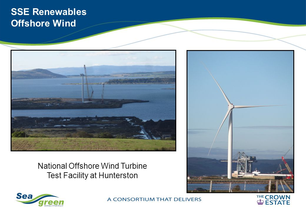 SSE Renewables Offshore Wind National Offshore Wind Turbine Test Facility at Hunterston