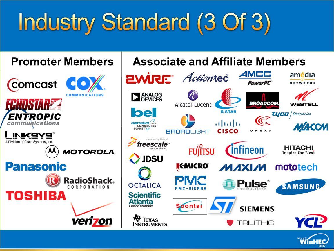 Promoter MembersAssociate and Affiliate Members