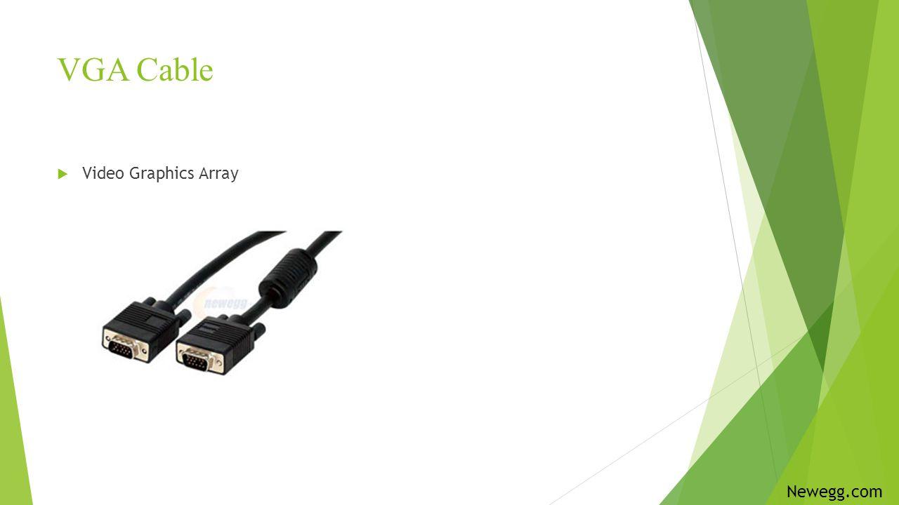 VGA Cable Video Graphics Array Newegg.com