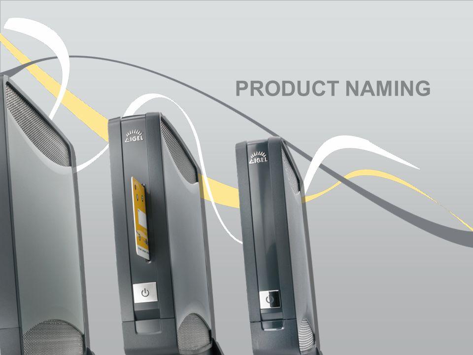 PRODUCT NAMING