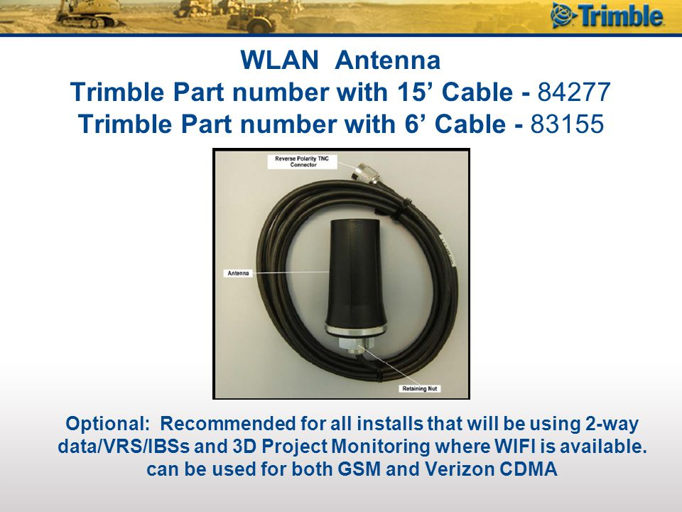 SNM940 Connected Site Gateway- Verizon CDMA (US) Telemetric Only (VisionLink) Services Required Optional 89400-00Universal Plan for VisionLink, 12 Months 89510-00Subscription - Health Plan for VisionLink 89520-00Subscription - Utilization Plan for VisionLink 89540-00Subscription - Rapid Reporting Plan for VisionLink **Verizon activation can take up to 24 hours from the time the services are orders in the Software Solutions store to when they are displayed in VisionLink