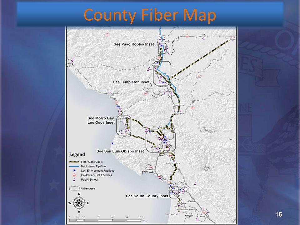 15 County Fiber Map