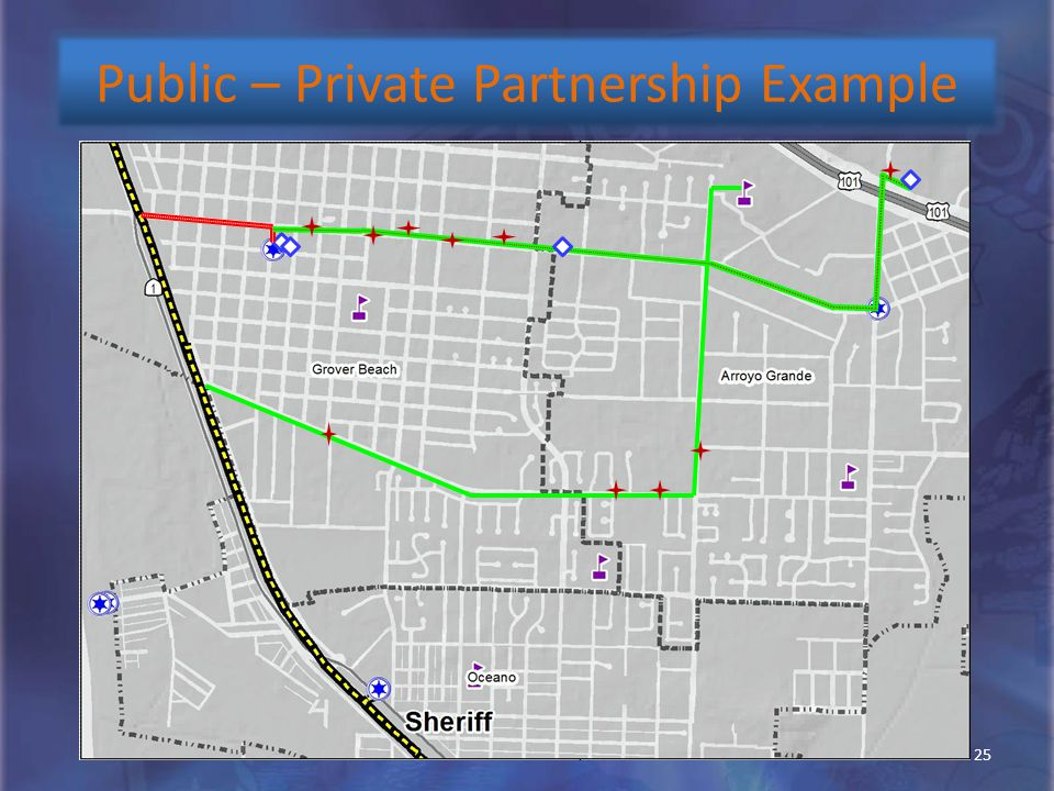 Public – Private Partnership Example 25