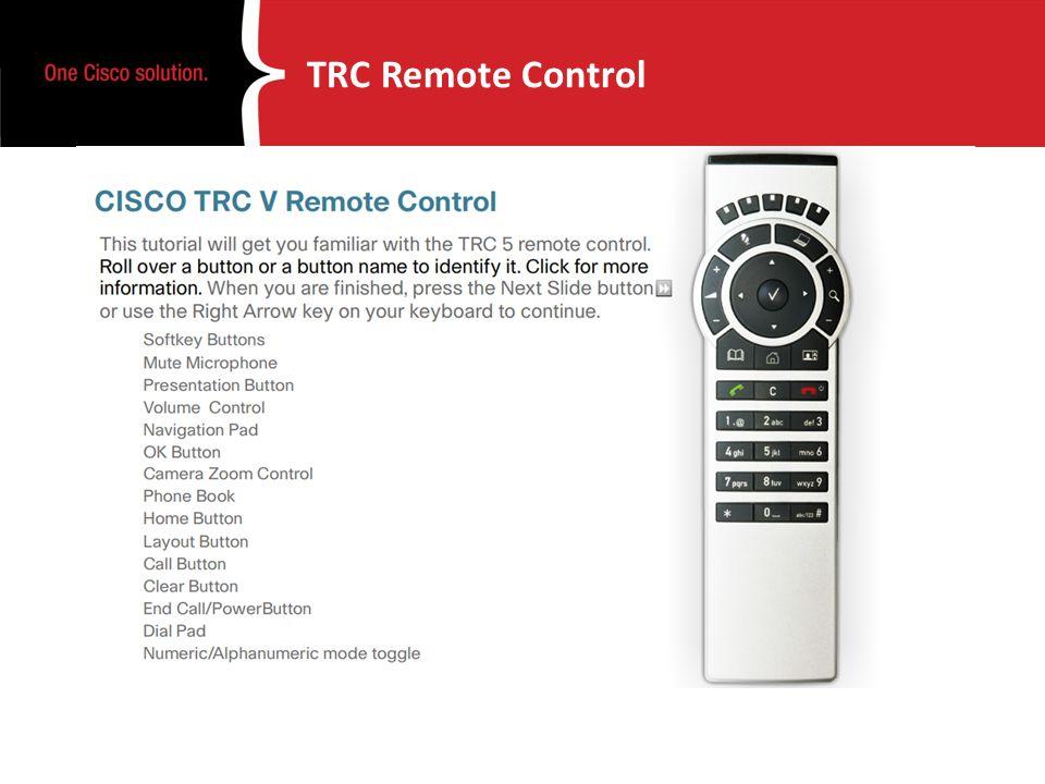 TRC Remote Control