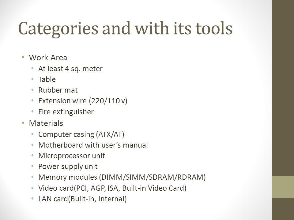 Materials Power supply unit