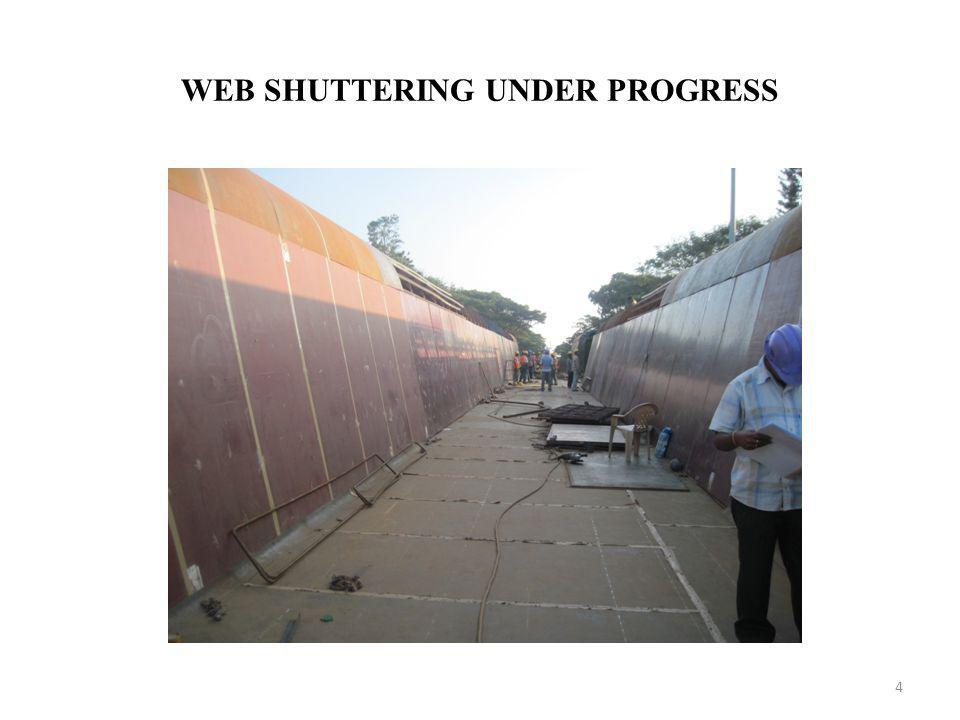 WEB SHUTTERING UNDER PROGRESS 4