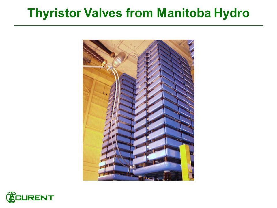 Thyristor Valves from Manitoba Hydro