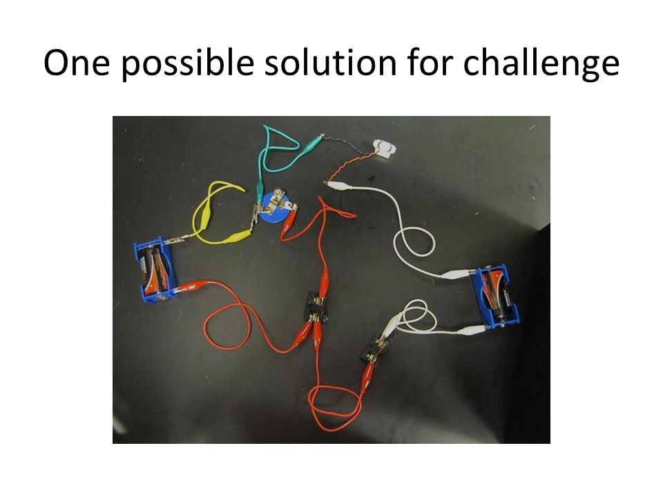 One possible solution for challenge + _