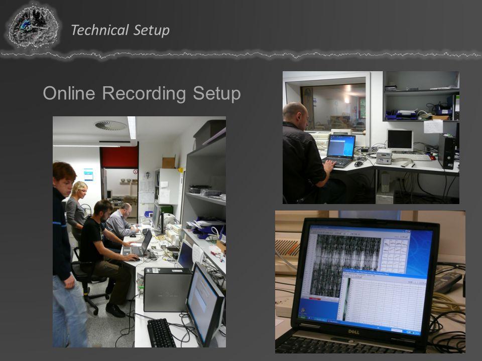 Technical Setup Online Recording Setup