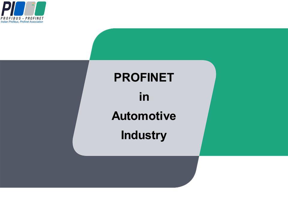 PROFINET in Automotive Industry