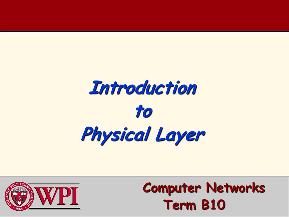 Computer Networks Introduction to the Physical Layer 12 Concentrator [Statistical Multiplexing]