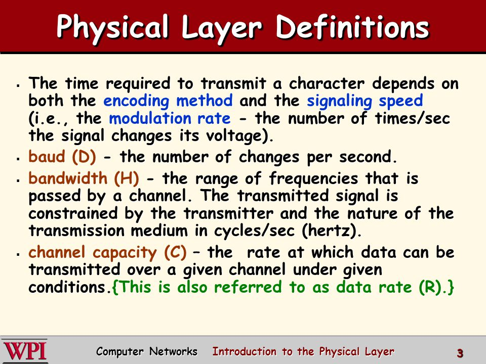 home cable headend cable distribution network (simplified) Computer Networks Introduction to the Physical Layer 24 Cable Network Architecture: Overview