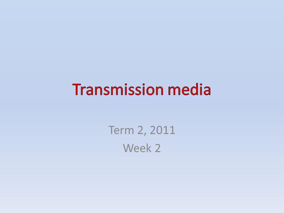 Term 2, 2011 Week 2