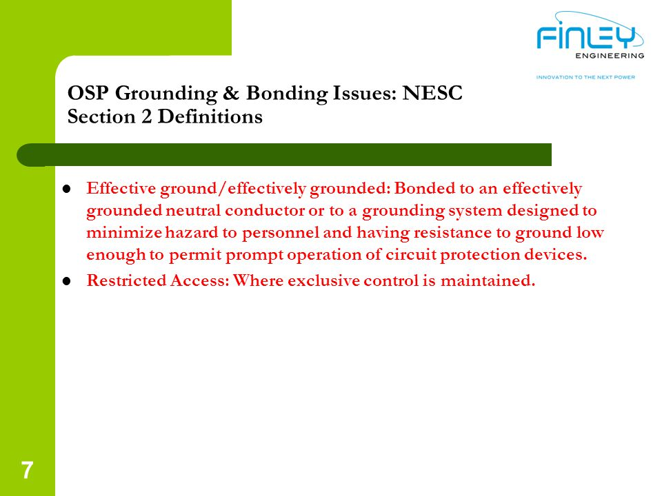 NEC Article 840 Premise Powered Broadband Systems Article 840: Definition of exterior or interior rated ONT – All exterior ONTs are required to be grounded/bonded as per the requirements of their UL listing This applies regardless if the ONT is installed indoors or outdoors – Interior ONTs typically do not require to be grounded/bonded per the requirements of their UL listing I am not aware of any indoor ONTs that can be installed outdoors 18