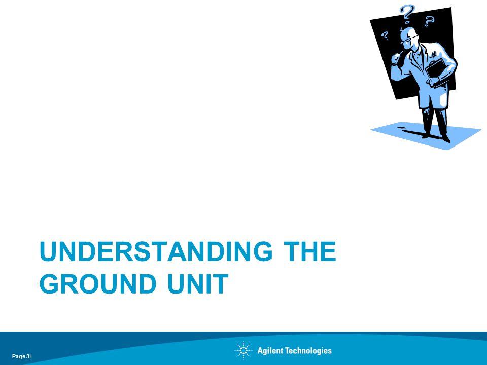 UNDERSTANDING THE GROUND UNIT Page 31