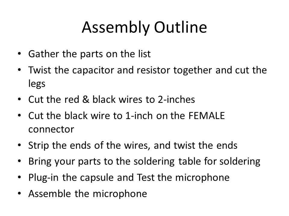 Appendix B: Electronic Components A resistor resists the flow of electricity.