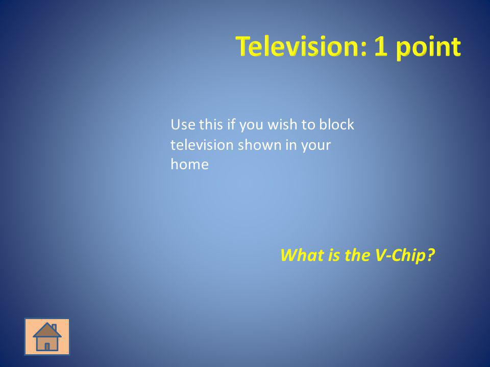 What is the V-Chip?