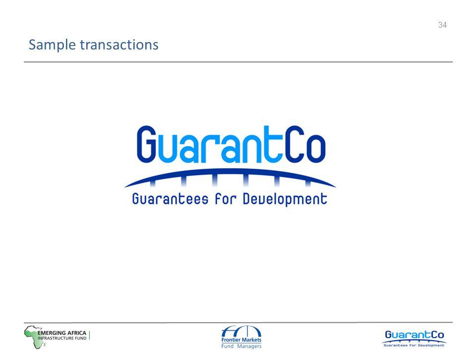 Sample transactions 34