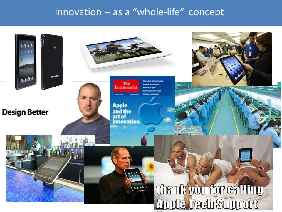 Innovation – as a whole-life concept