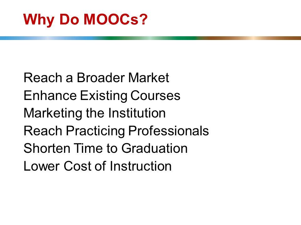 Why Do MOOCs.