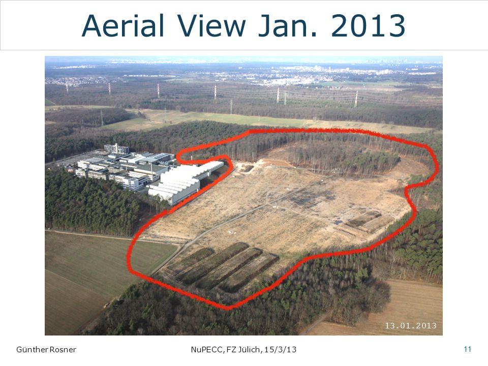 Aerial View Jan. 2013 Günther RosnerNuPECC, FZ Jülich, 15/3/13 11 13.01.2013