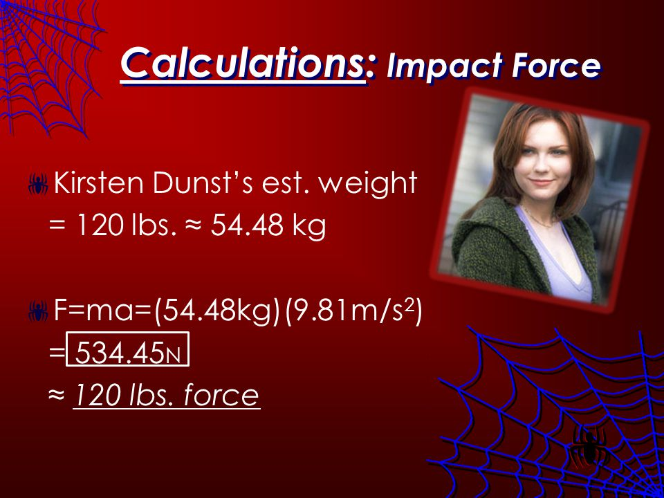 Impact Force Average female hands can handle about 92 lbs.