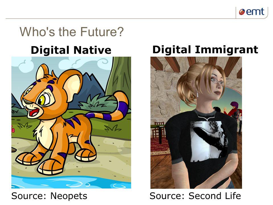 13 kuupäev ja presentatsiooni pealkiri Who s the Future.