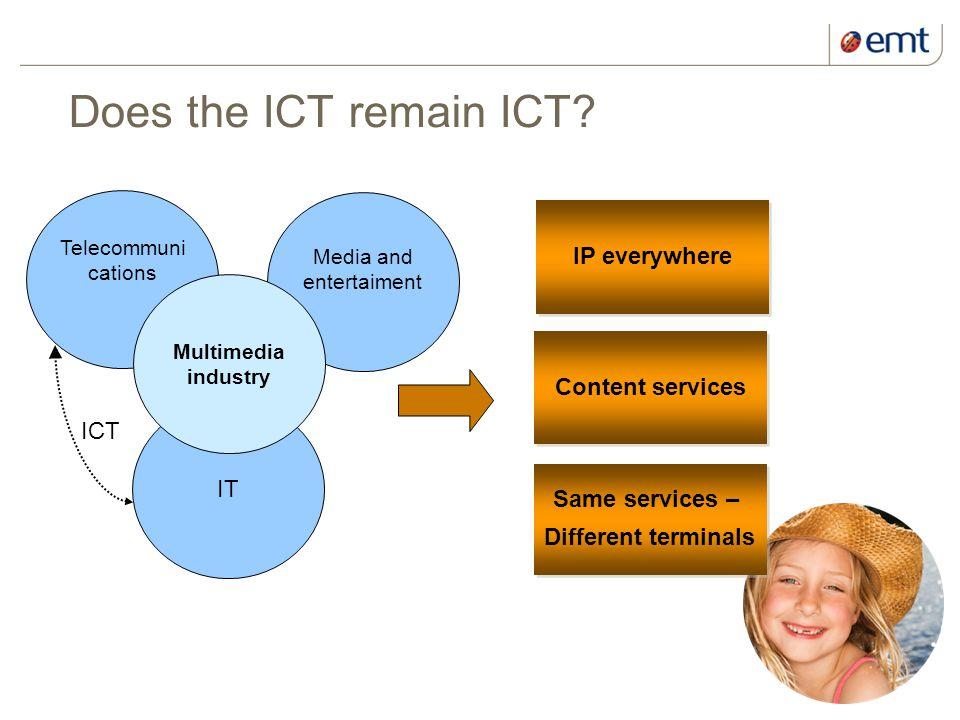 2 kuupäev ja presentatsiooni pealkiri Does the ICT remain ICT.