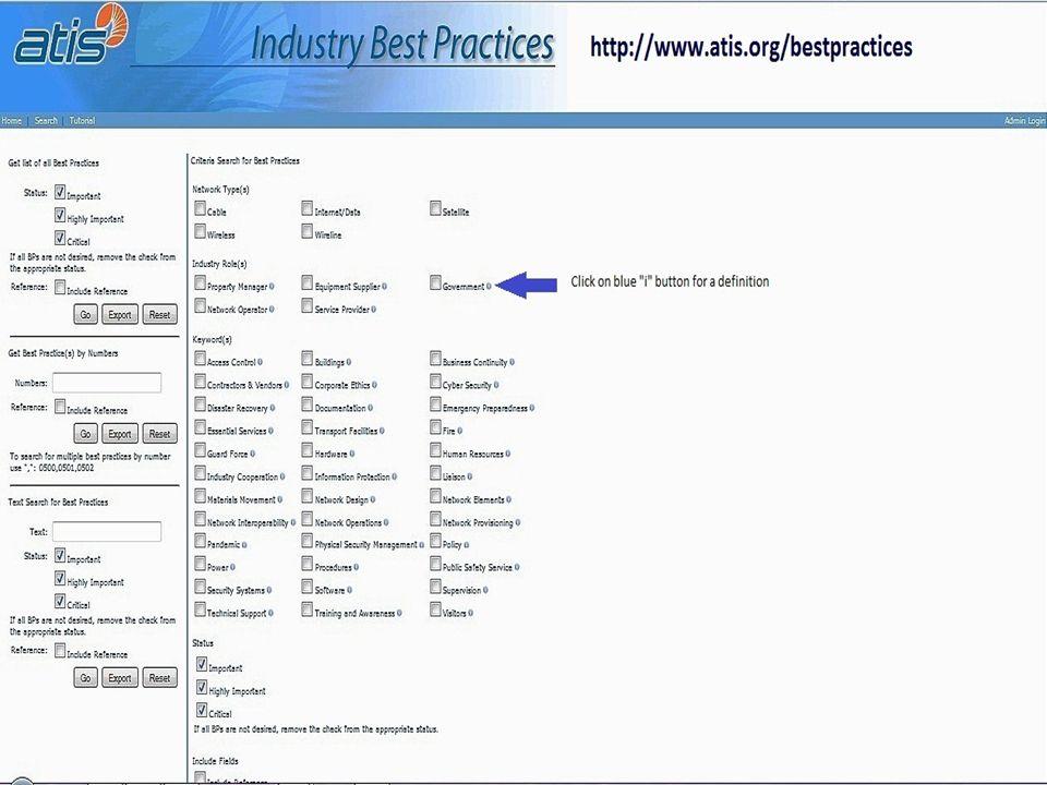 Best Practices Tutorial February 2014 12