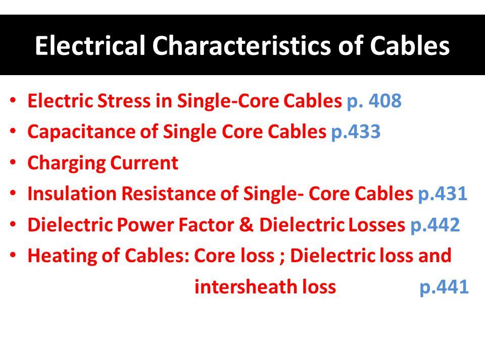 Calculate the following: a- Maximum electric stress.