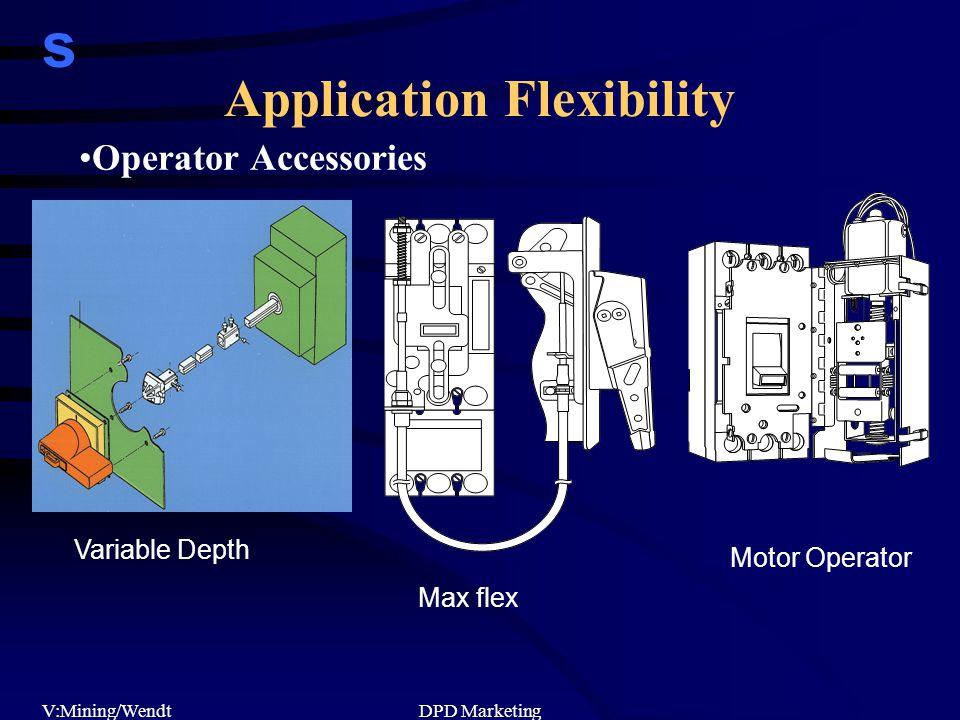 s V:Mining/WendtDPD Marketing Operator Accessories Variable Depth Max flex Motor Operator Application Flexibility