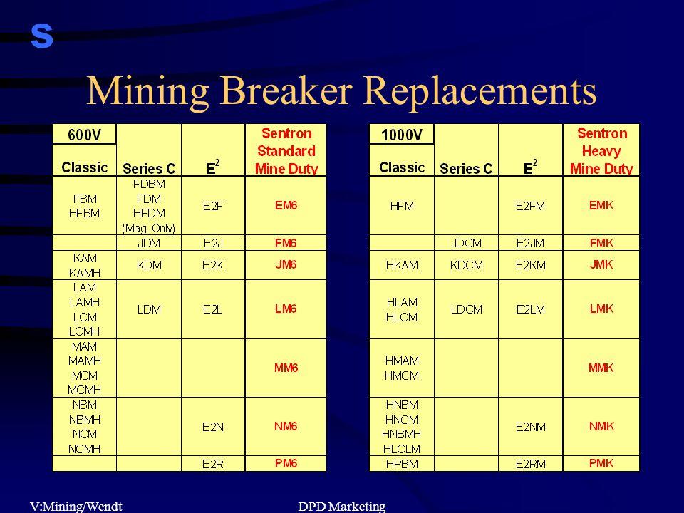 s V:Mining/WendtDPD Marketing Mining Breaker Replacements