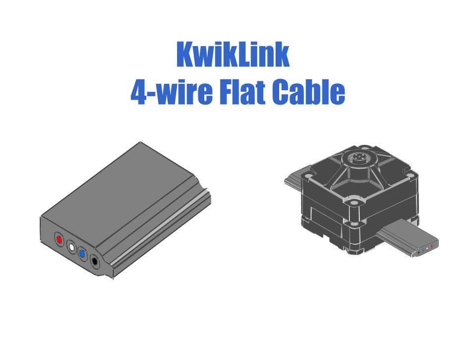KwikLink 4-wire Flat Cable