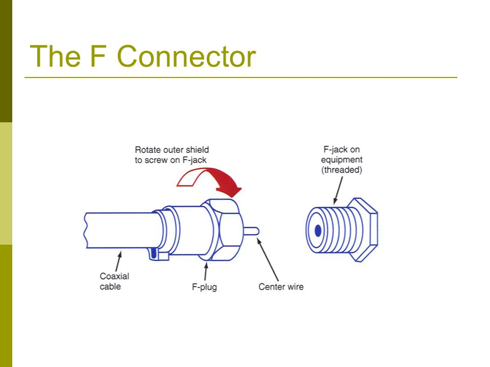 The F Connector