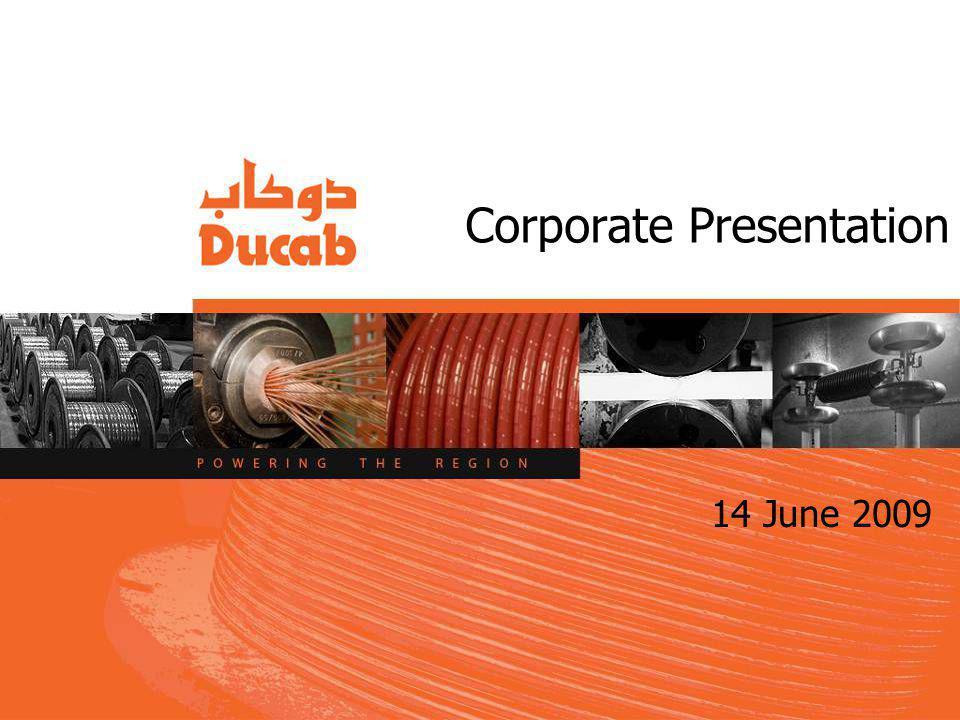 Corporate Presentation 14 June 2009