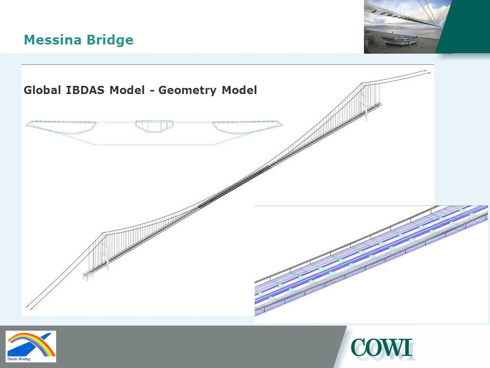 Messina Bridge Global IBDAS Model - Geometry Model