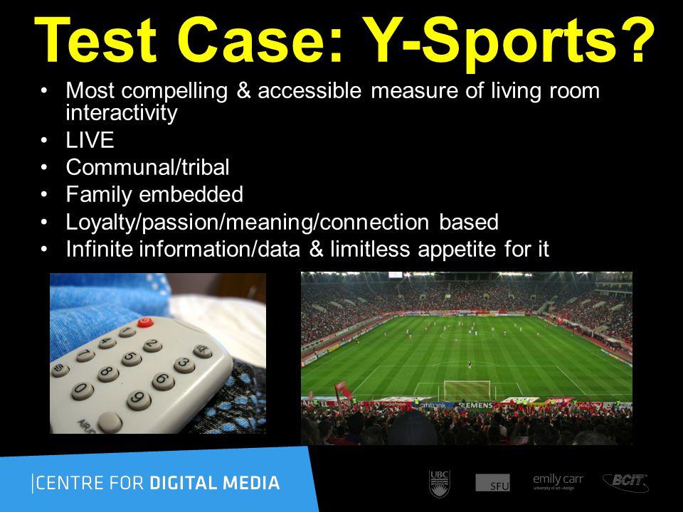 Test Case: Y-Sports.