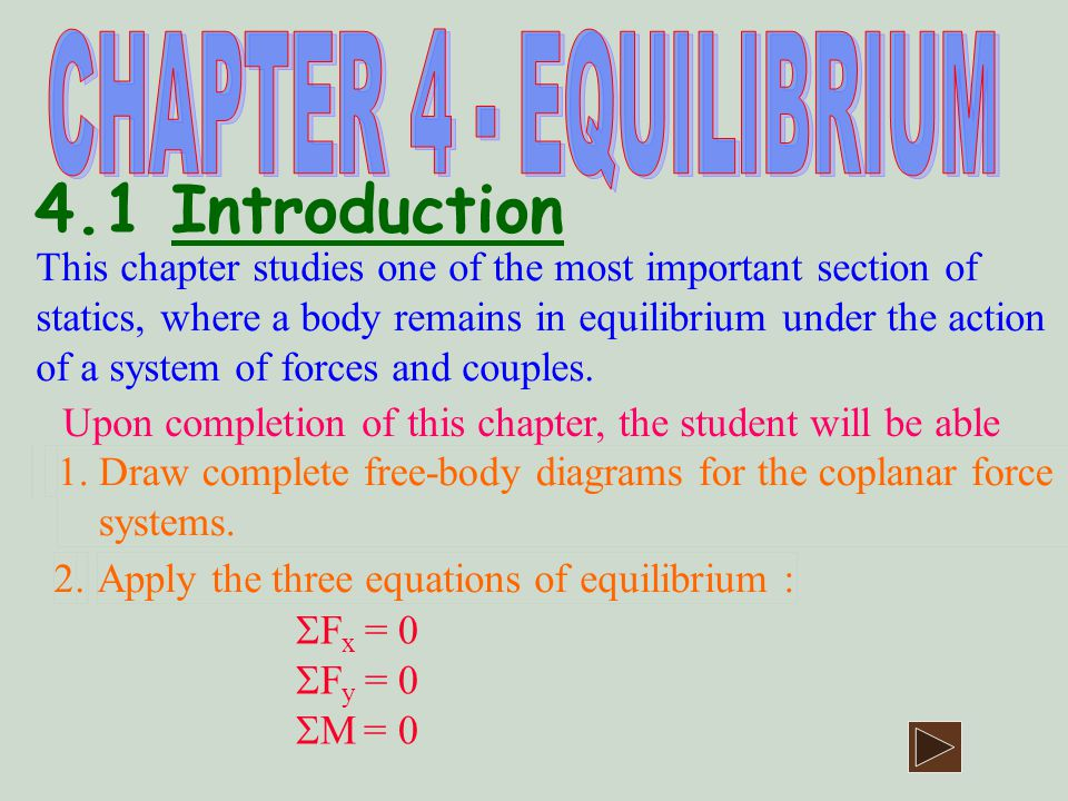 Solution 4.2 F.B.D.1. Draw the body ABC 2. Draw the forces at the supports.