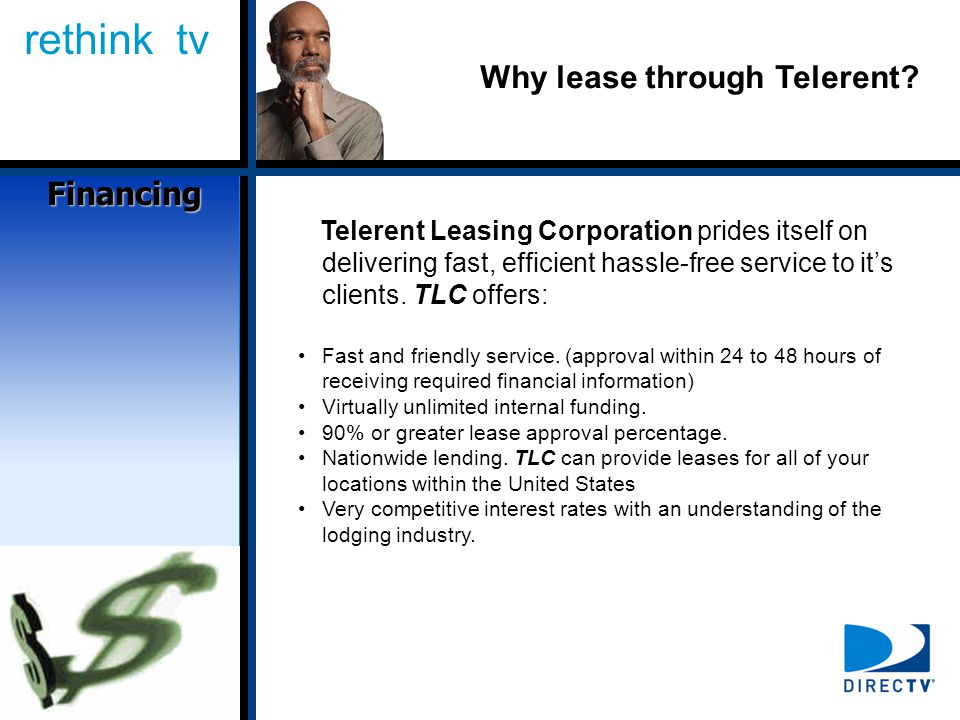 rethink tv Why lease through Telerent.