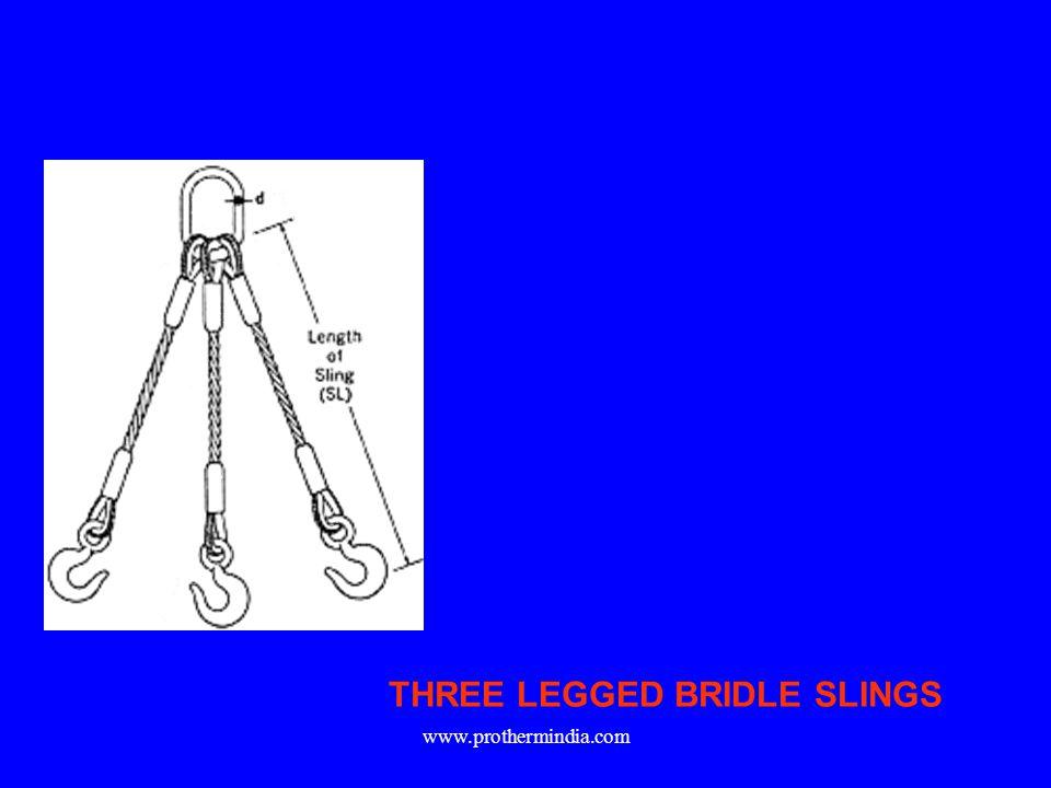 THREE LEGGED BRIDLE SLINGS www.prothermindia.com