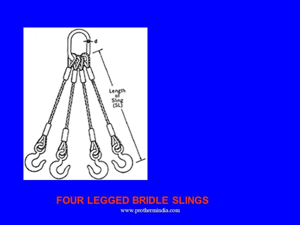 FOUR LEGGED BRIDLE SLINGS www.prothermindia.com