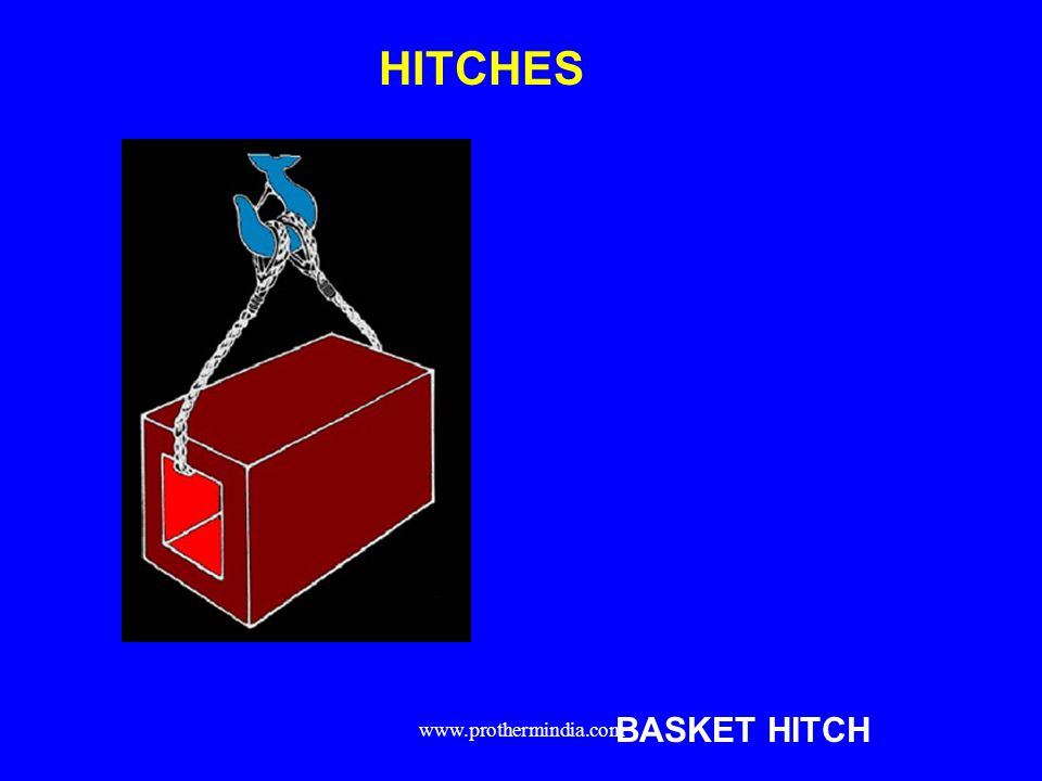 HITCHES BASKET HITCH www.prothermindia.com
