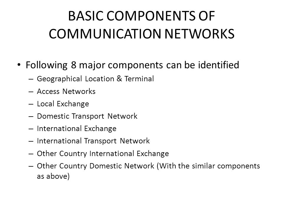 DEVELOPMENT OF ACCESS NETWORK Access Network is developed to accommodate integrated services such as Internet, IPTV, Data with Voice Radio Options: 3G, EvDO, WiMAX xDSL, PON, and PLC Power TV Telephone ?