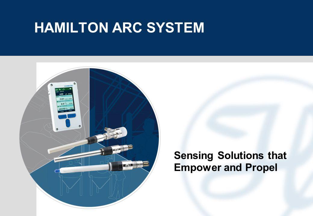 page 2 HAMILTON ARC System NEED A FUTURE-PROOF SENSOR SYSTEM.